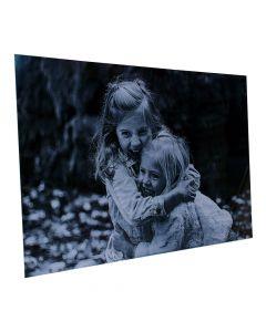 Aluminium Wandbild mit persönlichem Foto 55cm x 36cm