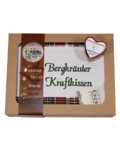 Bergkräuter Kraft Set Geschenkkarton