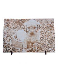 Bild aus Holz mit persönlichem Foto diverse Größen