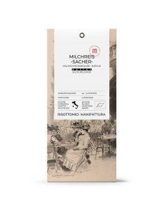 Bio Milchreis Sacher mit Zotter Schokolade und Marille 250g