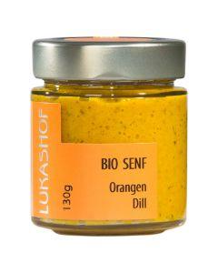 Bio Orangen -  Dill Senf 130g