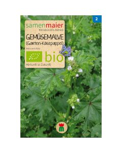 Bio Gemüsemalve - Saatgut für zirka 100 Pflanzen