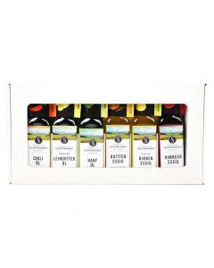 Bio Geschenkbox 3 Öle und 3 Essige 6x100ml