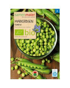 Bio Markerbsen Karina - Saatgut für zirka 40 Pflanzen