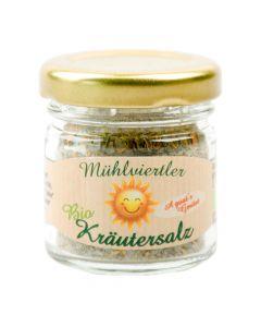 Bio Kräutersalz a guats Gmüat 30g Portionsglas