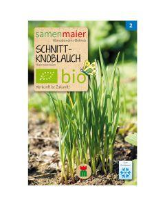 Bio Schnittknoblauch - Saatgut für zirka 30 Pflanzen