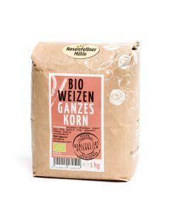 Bio Weizen ganzes Korn 1000g
