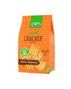 Bio LAND-LEBEN Dinkel Cracker Mediterran 90g
