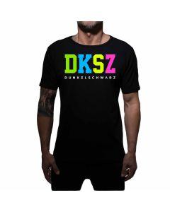 Dunkelschwarz T-Shirt DS-1 DKSZNEON black