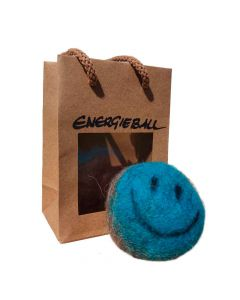 Energieball - handgefilzt türkis