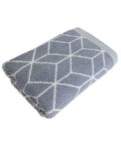 Handtuch Design Prisma 50x100cm - graphit