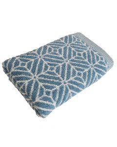 Handtuch Design Raute 50x100cm - niagara