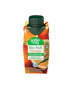 Green-Bag Bio Orangensaftkonzentrat 200ml