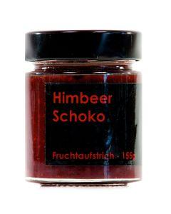 Himbeer Schoko Fruchtaufstrich 155g