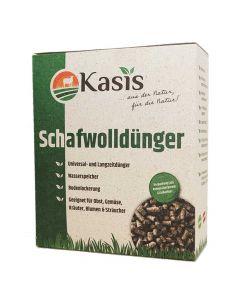 Kasis Schafwolldünger 3kg