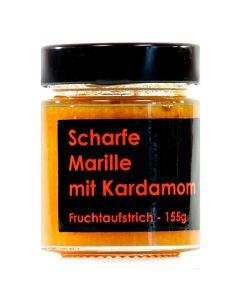 Scharfe Marille mit Kardamom Fruchtaufstrich 155g