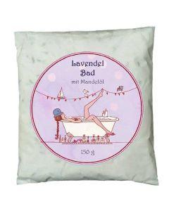 Lavendelbad mit Mandelöl 150g