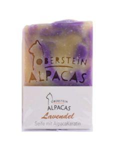 Alpaka Keratin Seife Lavendel 80g