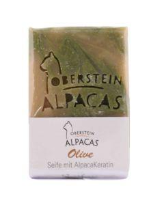 Alpaka Keratin Seife Olive 80g