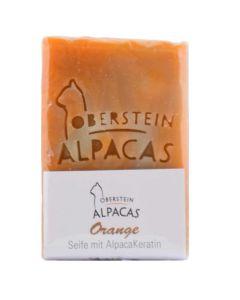 Alpaka Keratin Seife Orange 80g
