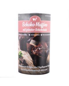 Schoko Muffins mit feinster Schokolade 866g