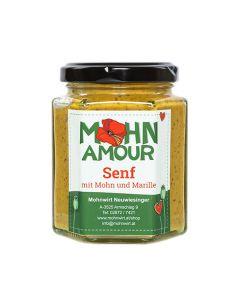 Senf mit Mohn und Marille 190ml