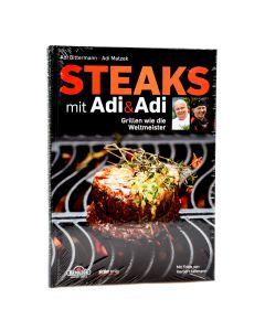 Buch Steaks mit Adi und Adi
