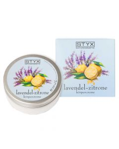 Lavendel Zitrone Körpercreme 200ml