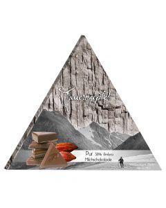 Tauerngipfel Edelschokolade Pur - 38 Prozent 75g
