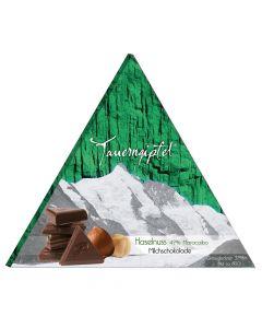 Tauerngipfel Edelschokolade Haselnuss - 49 Prozent 75g