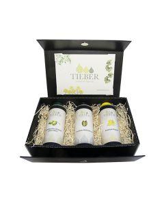 Trio-Öle in edler Geschenksverpackung 3x250ml