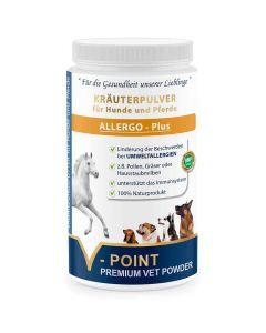Allergo Plus - Premium Kräuterpulver für Hunde und Pferde 500g