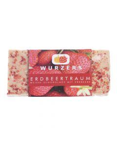 Wurzers Schokolade Erdbeertraum 70g