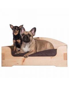 Zirbenbett für Hunde und Katzen mit Steckverbindungen in verschiedenen Größen