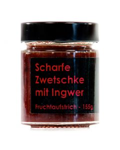 Scharfe Zwetschke mit Ingwer Fruchtaufstrich 155g