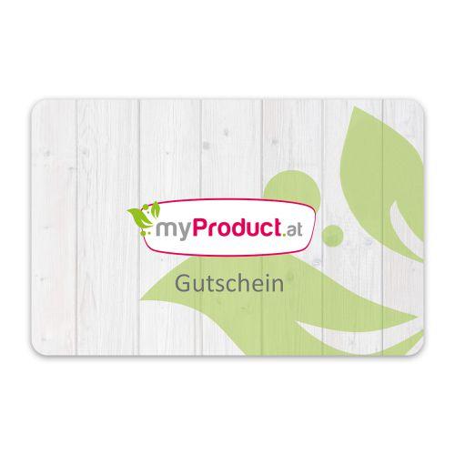 myProduct.at digitaler Geschenkgutschein - E-Mail Versand